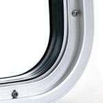 Radius Corner w/ Trim Ring Detail