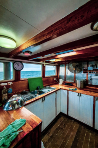 houseboat renovation